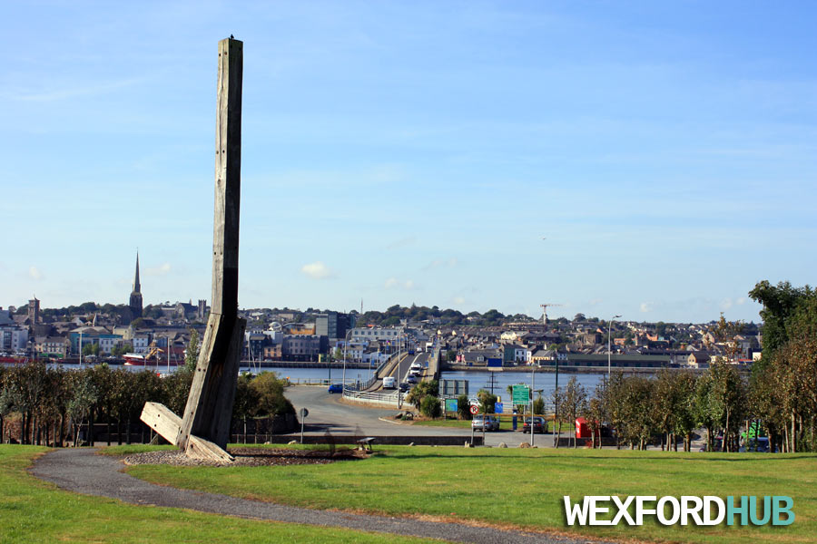 Ferrybank, Wexford - Oak and steel structure.