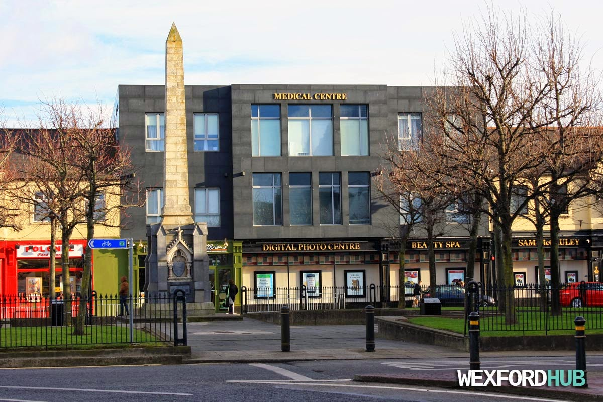 Redmond Square in Wexford Town.