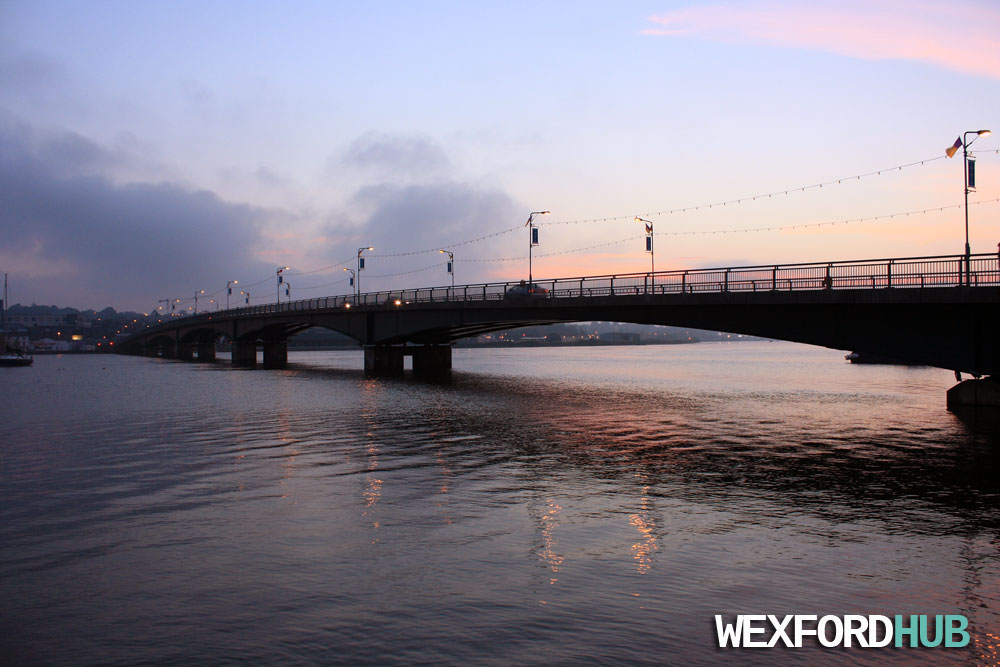 Wexford Bridge sunset