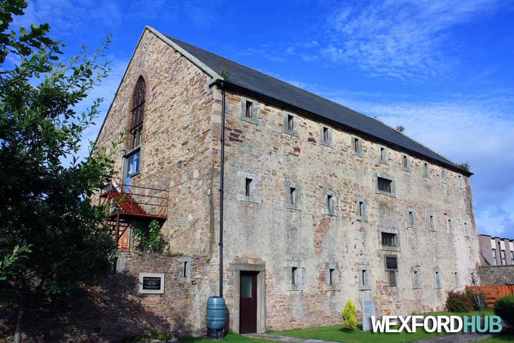 Wexford Gaol from the back.