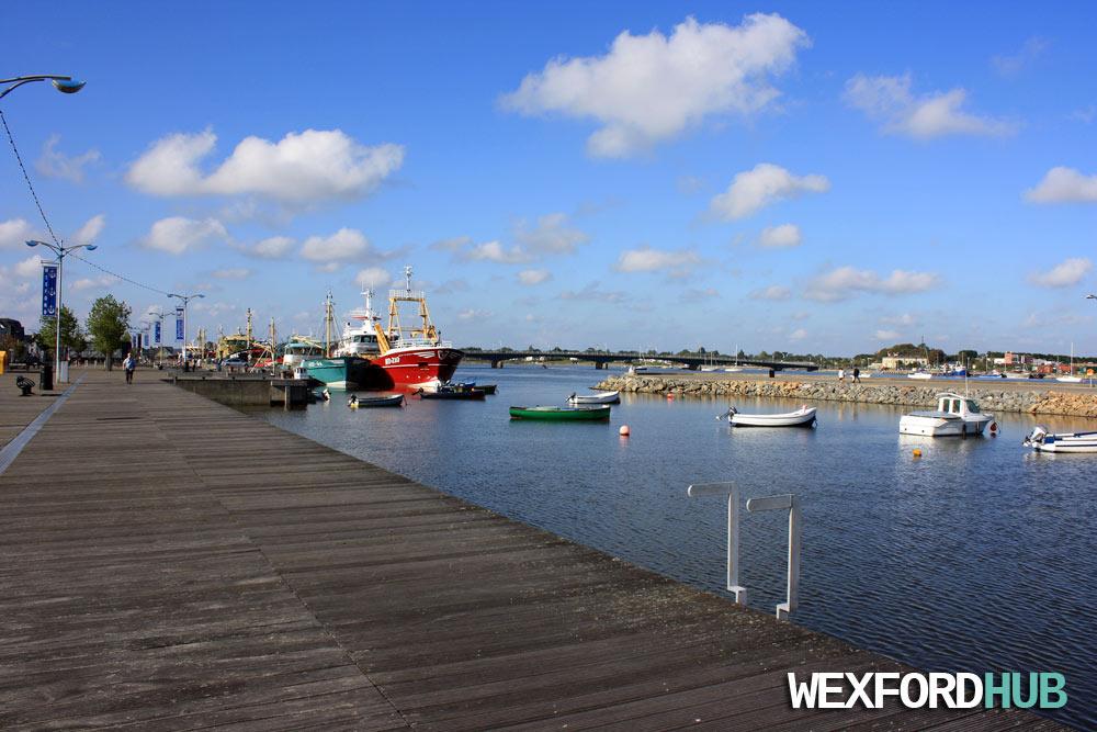 Wexford Marina.
