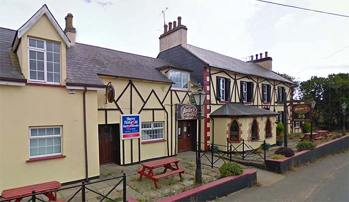 Butlers bar in Broadway, Wexford.