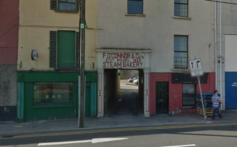 Steam Bakery entrance, Wexford.