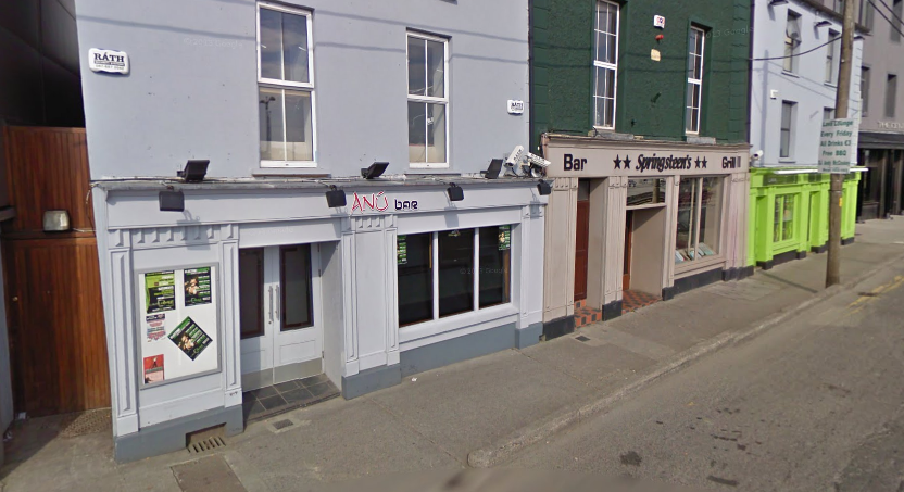 Anu Bar, Springsteens and the Lava Lounge, Wexford.