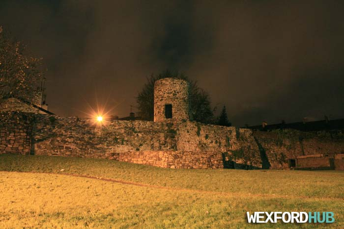 Wexford's Town Wall