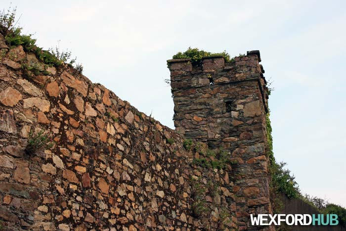 Rectangular Mural Tower