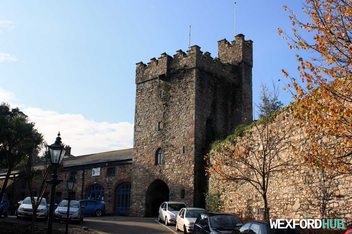 Westgate tower wexford for The wexford