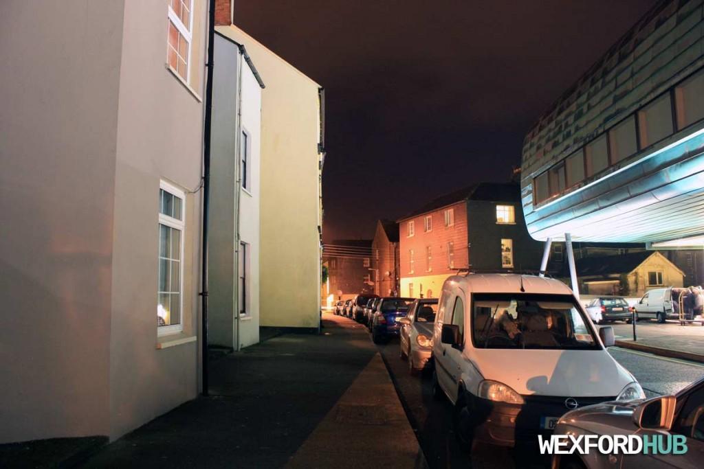 Abbey Street in Wexford Town