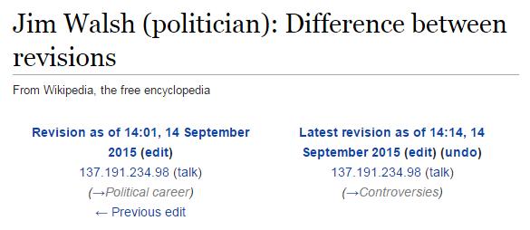wikipedia edit oireachtas