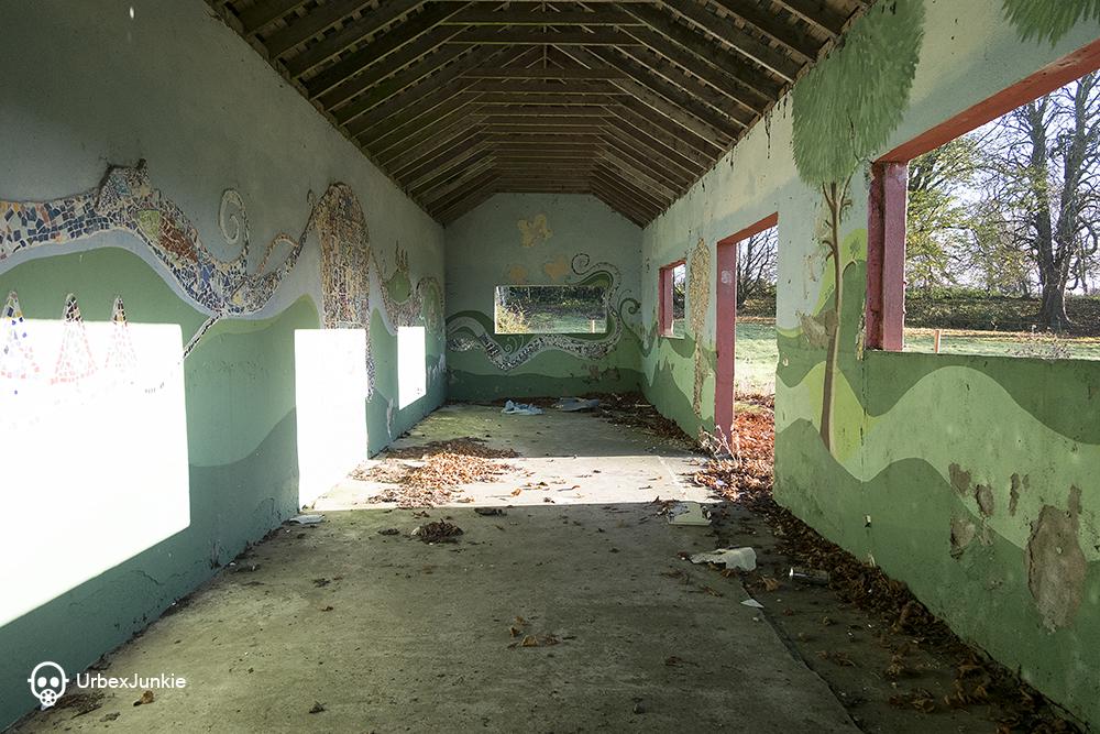 eerie room