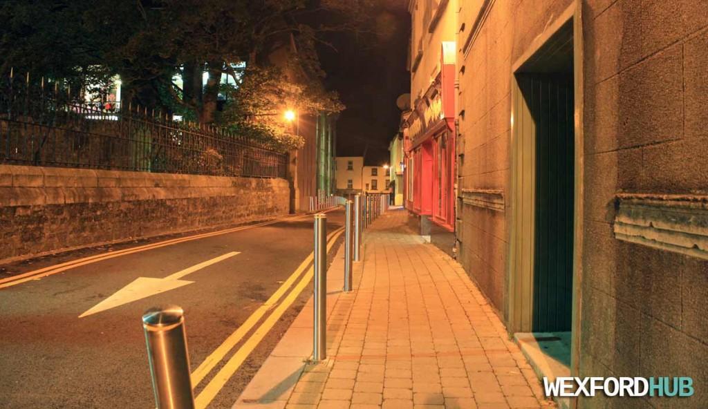 Mallin Street in Wexford Town.