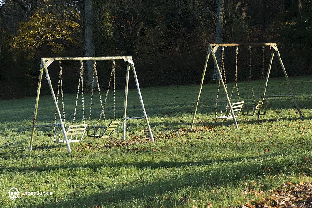 rusty swings