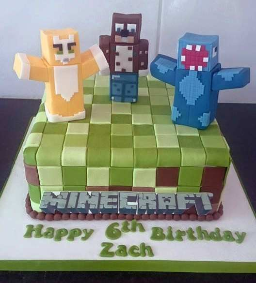 Minecraft Cake Decorations Uk : Cakes, Wexford. Weddings Birthdays Christenings.