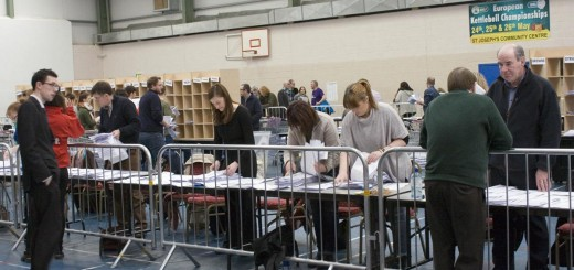 General Election Count Centre